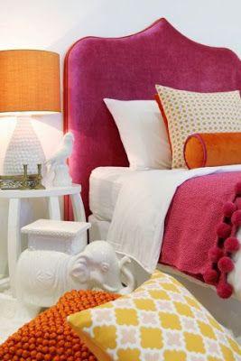 Cabezal cama tapizado DIY