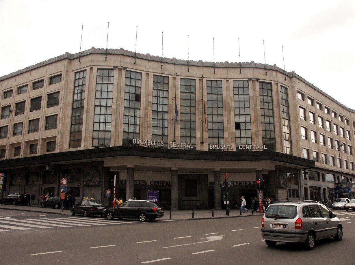 Train Station in Brussels, Belgium