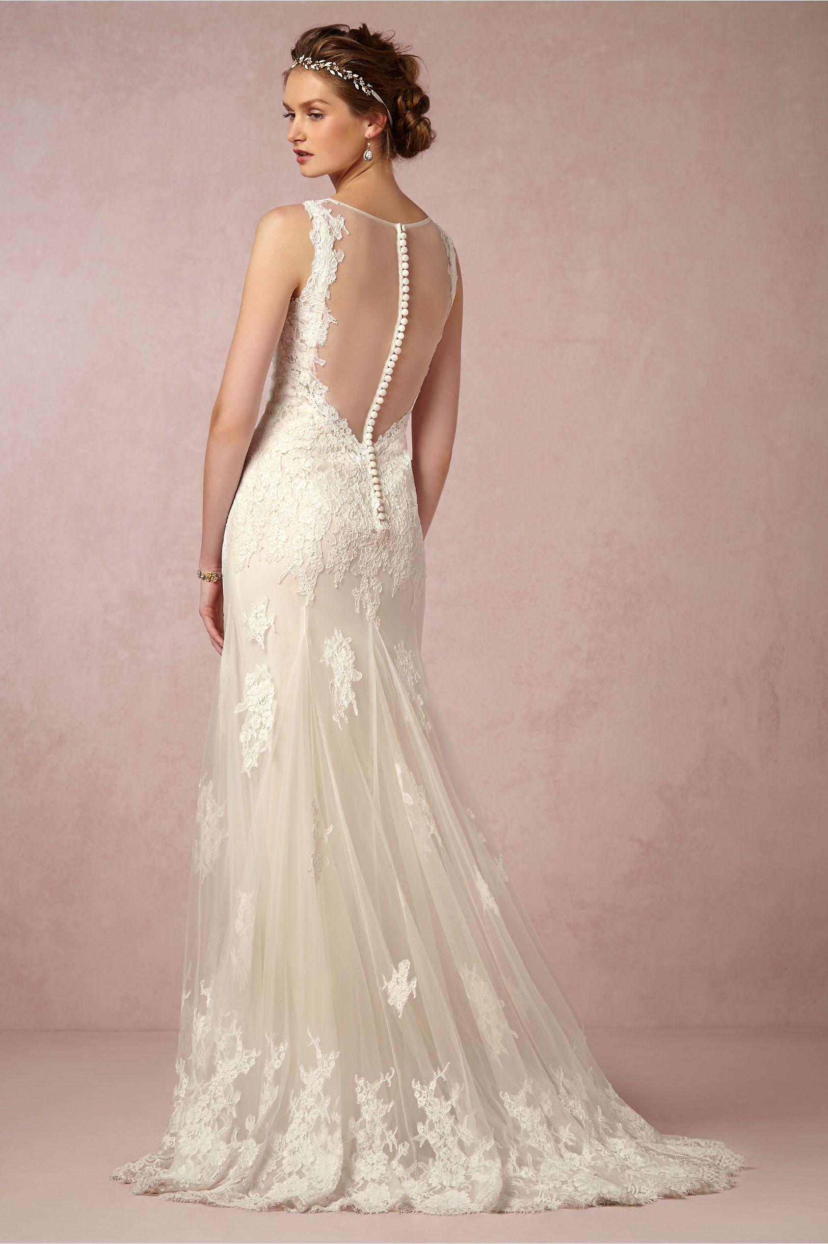 Francine Gown in Bride Wedding Dresses at BHLDN | Divinos modelos ...