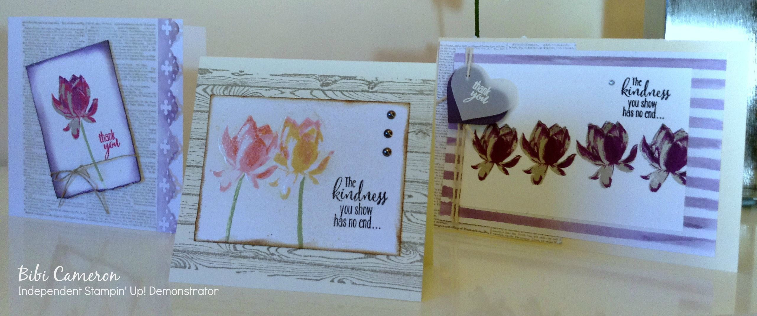 Lotus Blossom Stamp Set By Stampin Up To Order Online 247 Or See