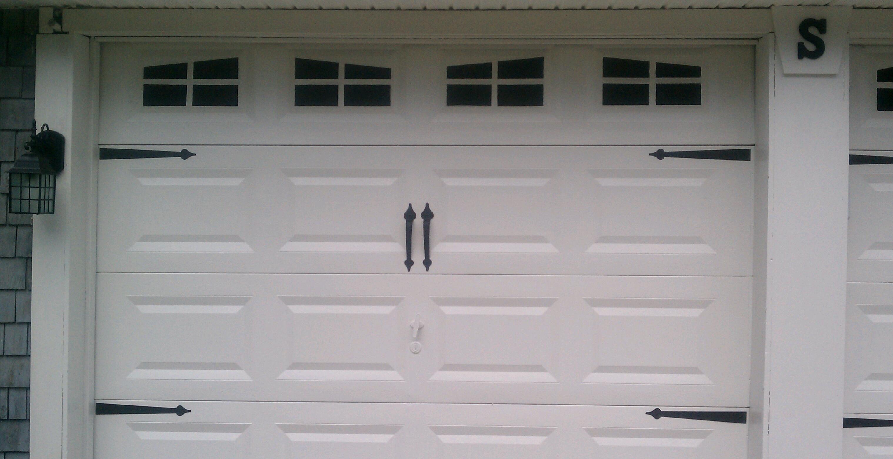 Turn Plain Garage Doors Into Carriage House Style Doors