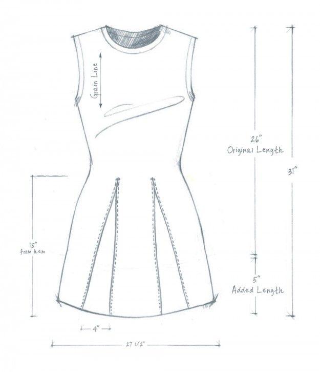 DIY T-SHIRTS + MODIFICATIONS - GODET SHIRT - alabama chanin | Sewing ...