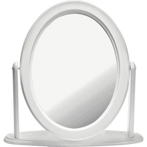 new arrival a4905 b9692 Buy Argos Home Oval Dressing Table Mirror - White | Mirrors ...
