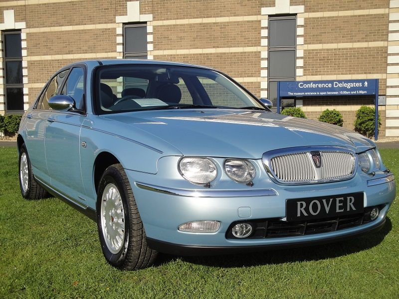 First Rover 75 First Rover 75 1998 Wedgewood Blue Rover 75