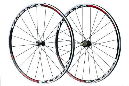 Bike Wheels Vuelta Corsa Superlite 700c Clincher Wheel Set Black