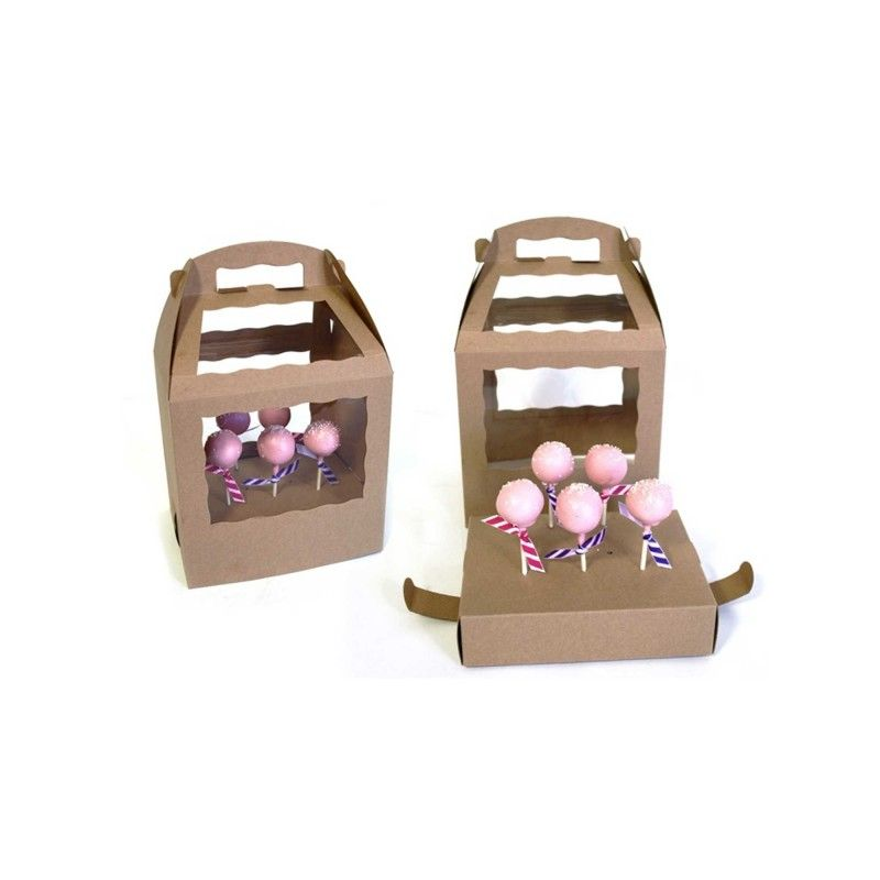 Cake Pop Box Creative Bag With Images Cake Pop Boxes Box