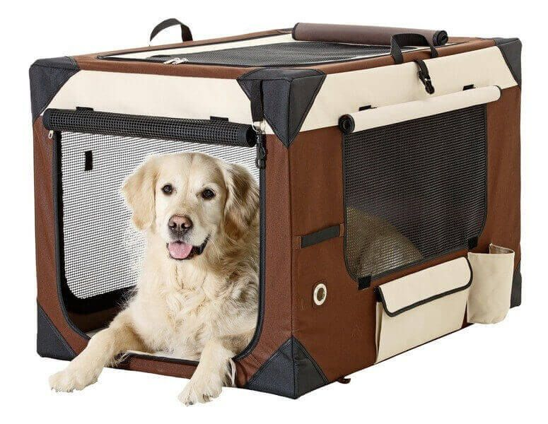 cage de transport smart top deluxe maison mobile animaux pinterest dogs dog toys et dog. Black Bedroom Furniture Sets. Home Design Ideas