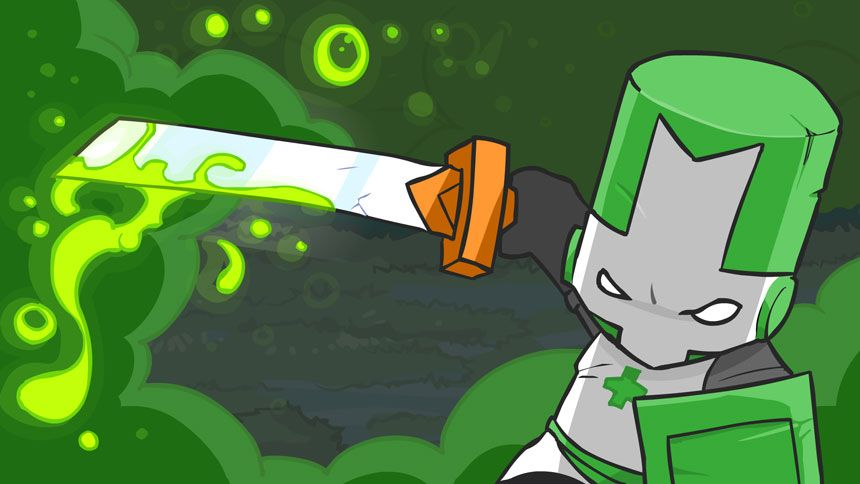Castle Crasher Green Knight Clipart Clipartfest Castle Crashers Green Knight Splash Screen