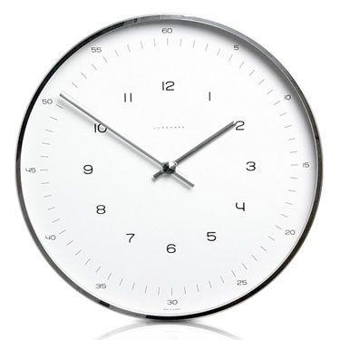 Max Bill Moderno reloj de pared con números ($ 200 500) - Svpply en Reloj