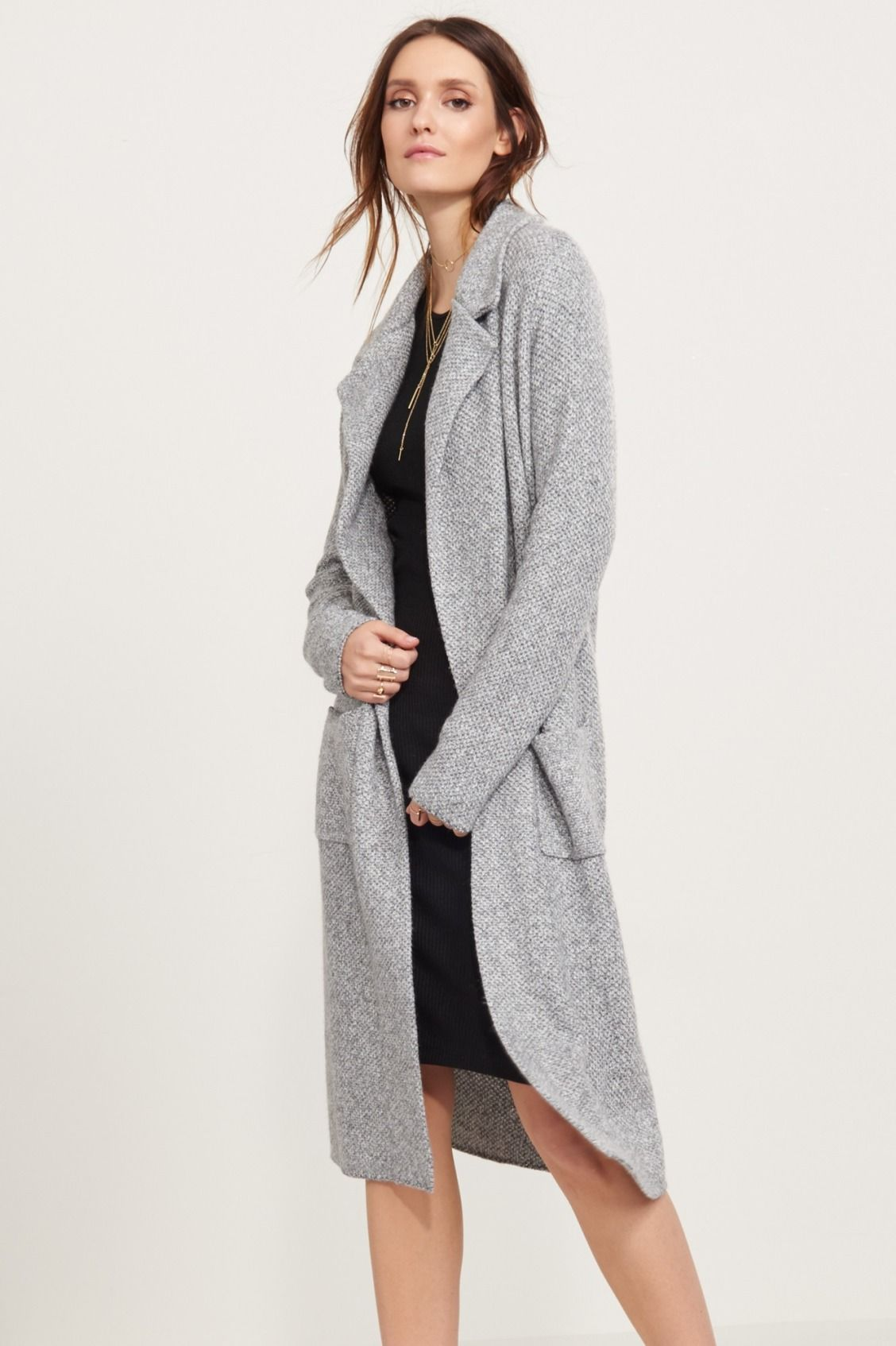 Long on style - Maxi Sweater Coat with Pockets | My Style ...