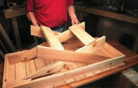 Build A Folding Table.How To Build A Wooden Folding Table Folding Table Diy