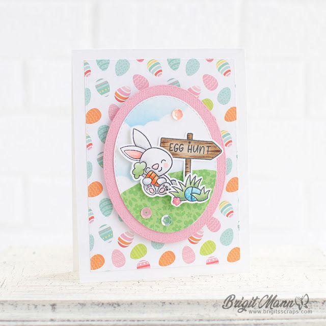 Egg Hunt - Doodlebug Hoppy Easter