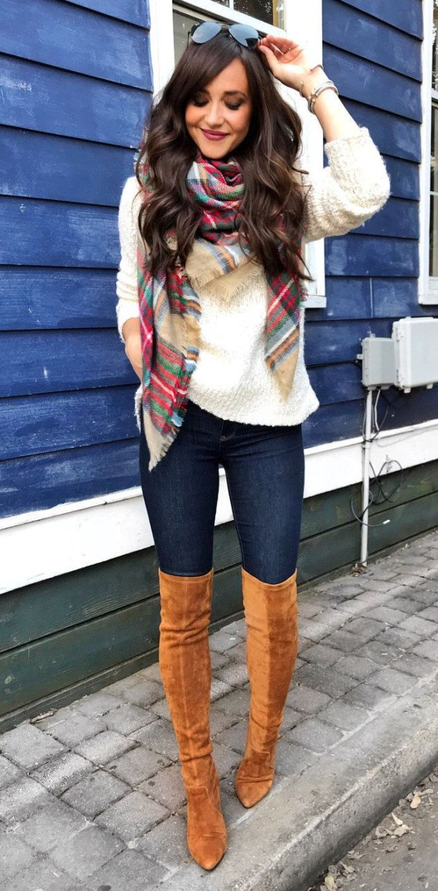 25 Knee High Boots Outfits for Winter Ideas to Copy Right Now - fashionetmag.com 3