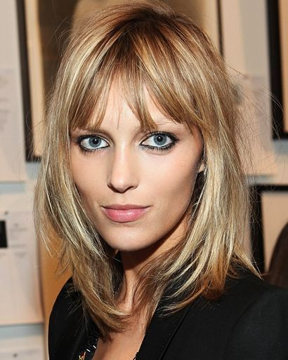 haircuts with bangs gallery bangs on thin hair search hair 4385
