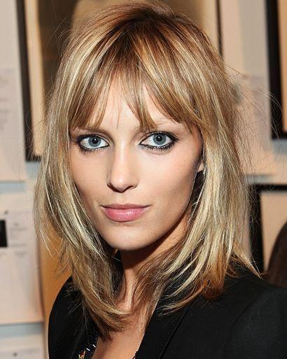 bangs fine thin hair - google