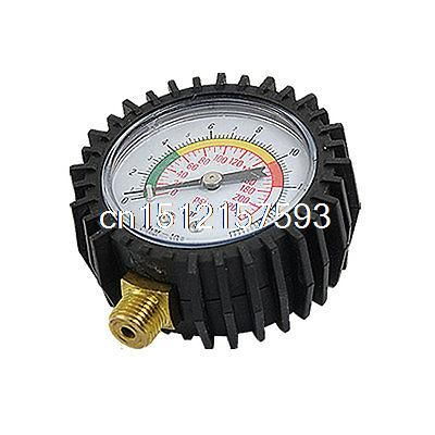 0 16 Bar Intensity Air Pressure Compound Gauge Blk Wht Accessories Breitling Watch