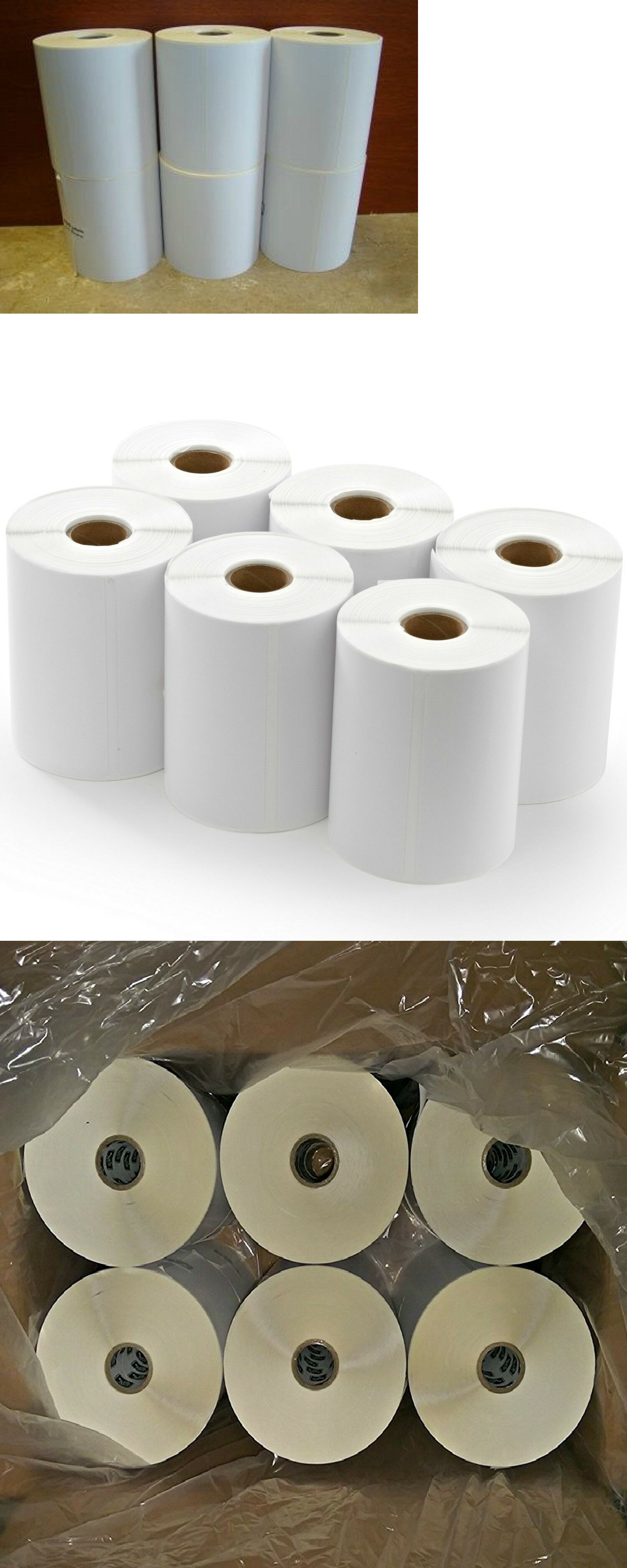 Printer Paper 86728: Direct Thermal Paper 4X6in Labels