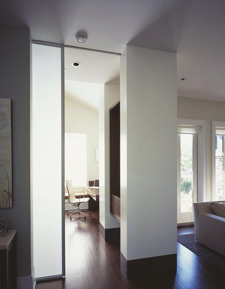 Scheidingswanden voor woonkamer en keuken met schuifdeuren | Winia ...