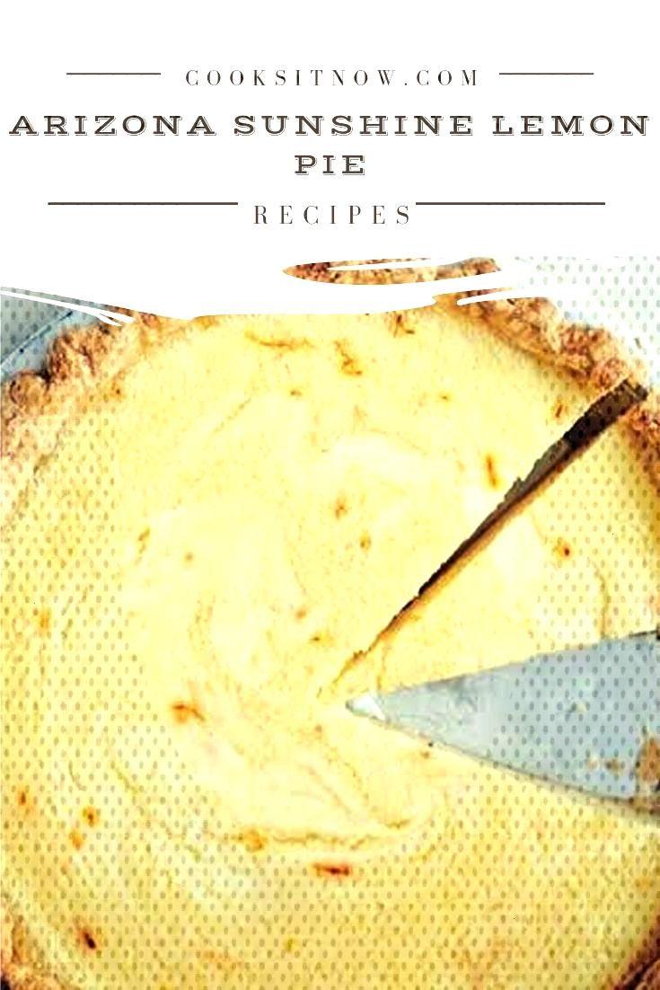 Arizona Sunshine Lemon Pie This is a very fun recipe to follow, because Grandma makes it sweet and