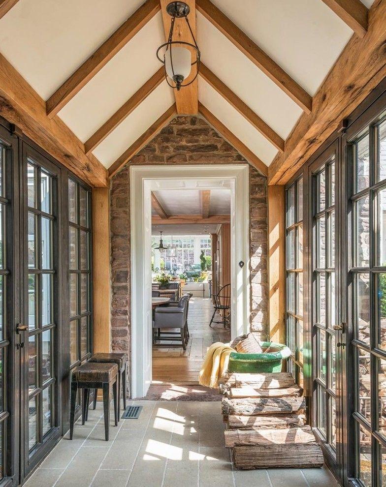 16 Superb Farmhouse Hallway Interior Designs Any Home Needs Pole Barn Homes Farmhouse Design Barn House