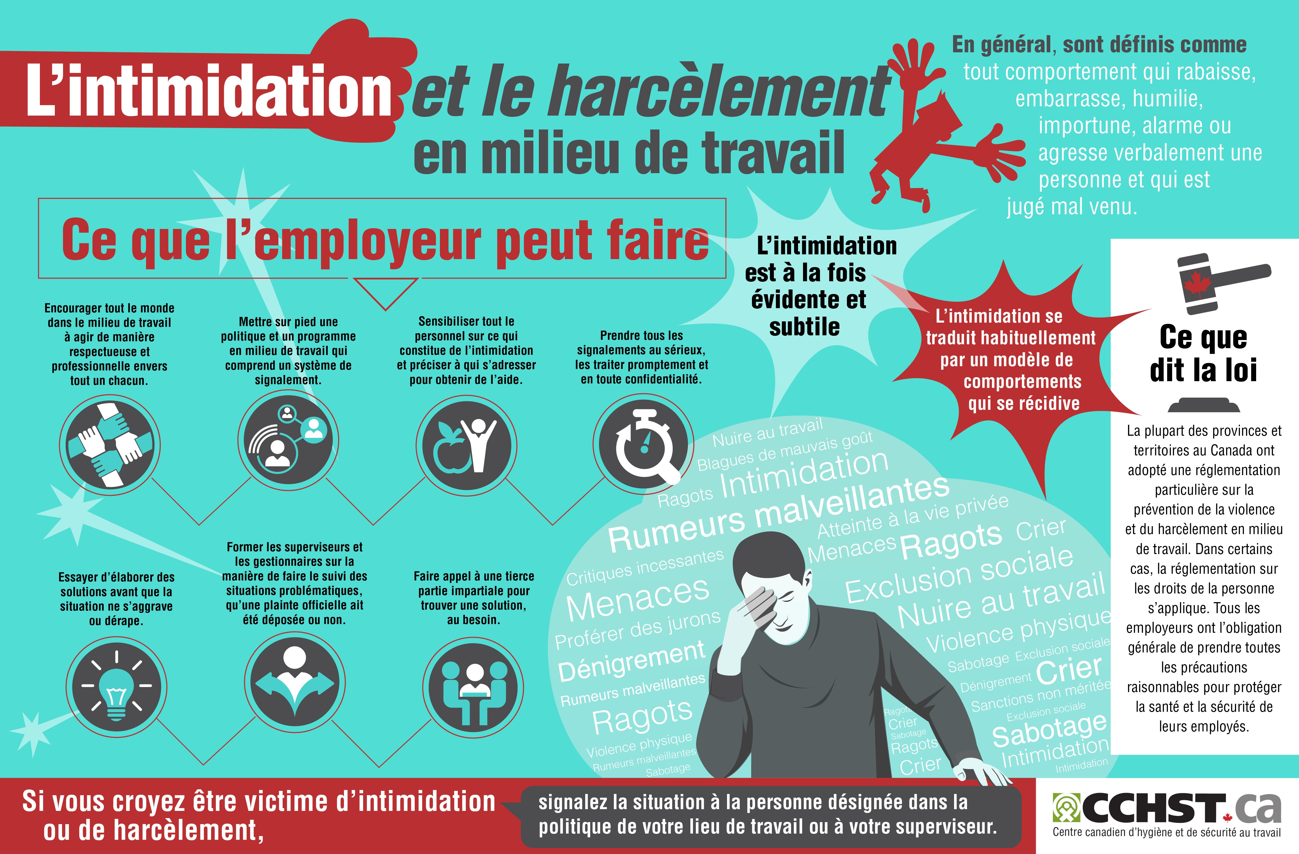{title} (avec images) Harcèlement au travail
