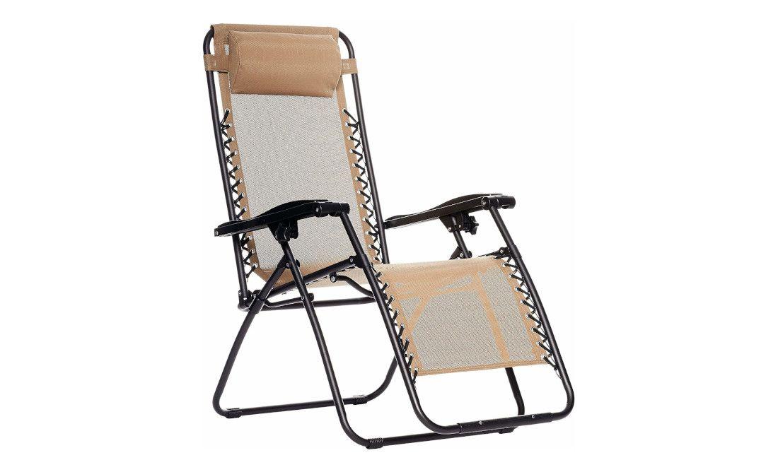7 Amazonbasics Zero Gravity Lounge Folding Chair In 2020 Chair Zero Gravity Chair Outdoor Chairs