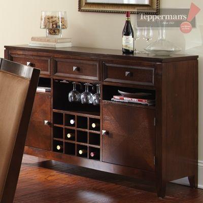 Cornell Server Tepperman S Steve Silver Furniture Hudson