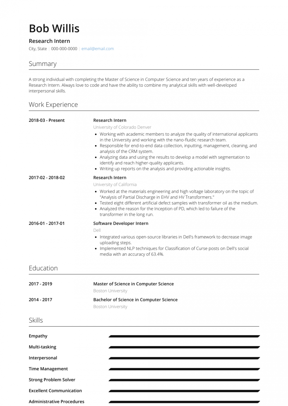 Computer Science Student Resume No Experience Luxury Legal Intern Resume Samples Templates Visualcv Inte Student Resume Student Resume Template Science Student
