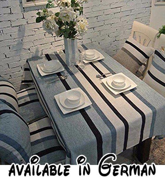 B0772T5PLK  WFLJL Tischdecke Esstisch Mode Wohnzimmer