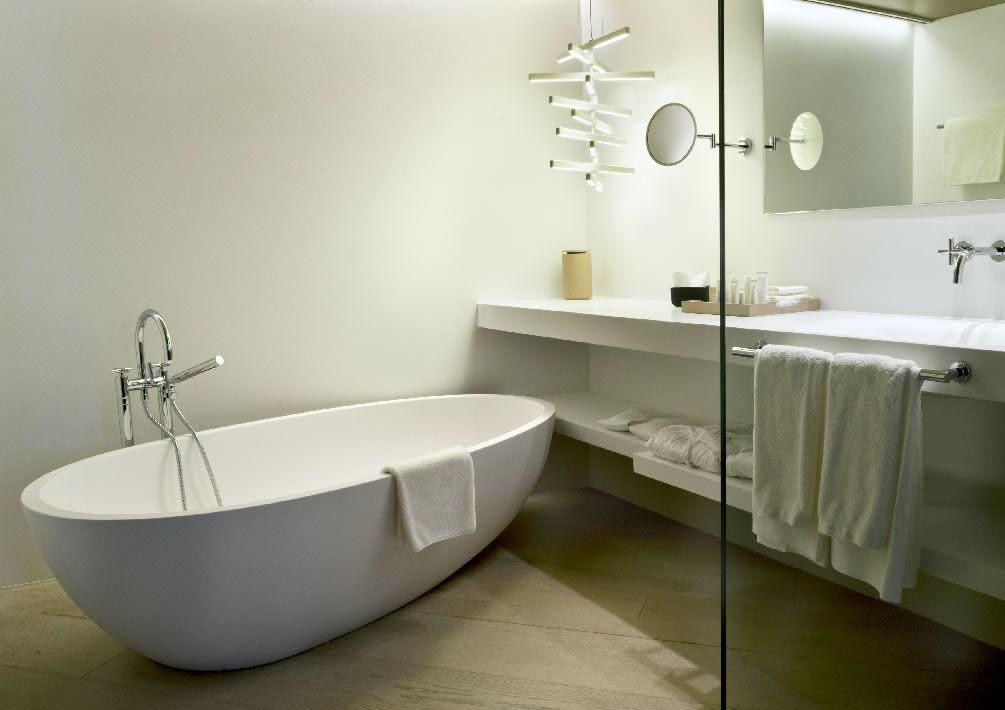 Bathroom, Suite, Mercer Hotel Barcelona
