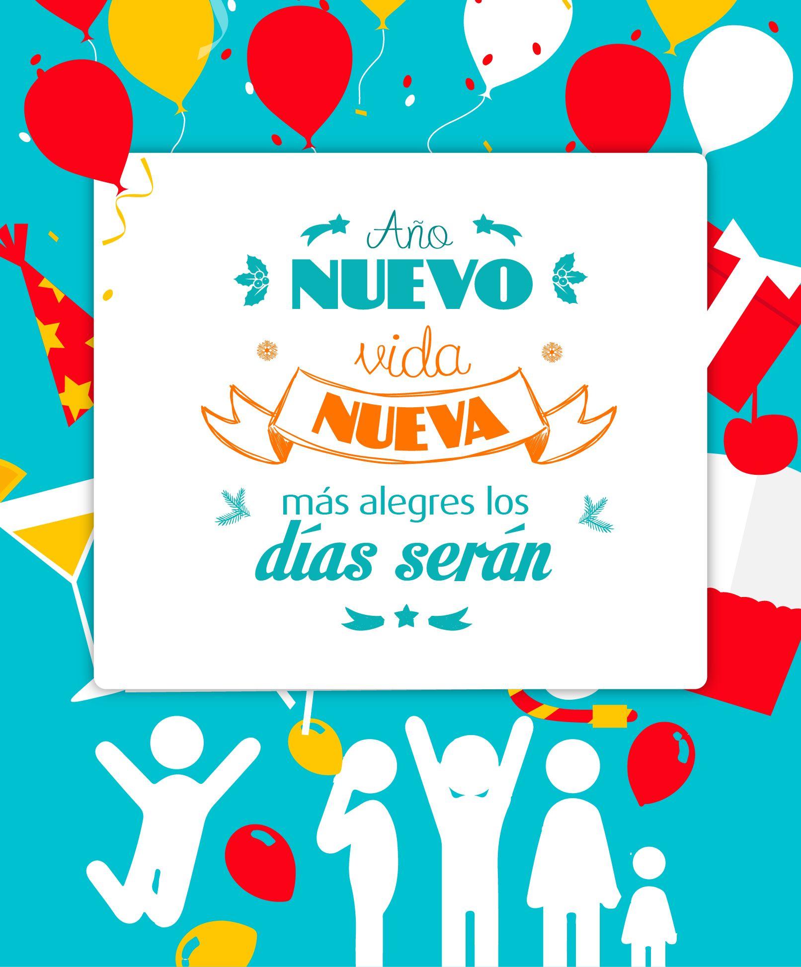 ¡Abraza a los tuyos y recibe el 2015 cantando con alegría!