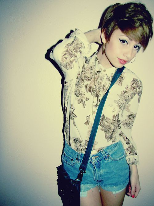 hipster pixie cut absolutely