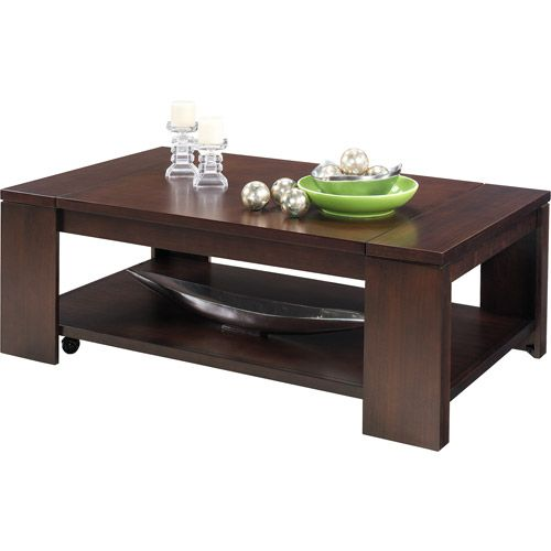 Lift Top Coffee Table Antique: Waverly Lift Top Coffee Table, Vintage Walnut---solves