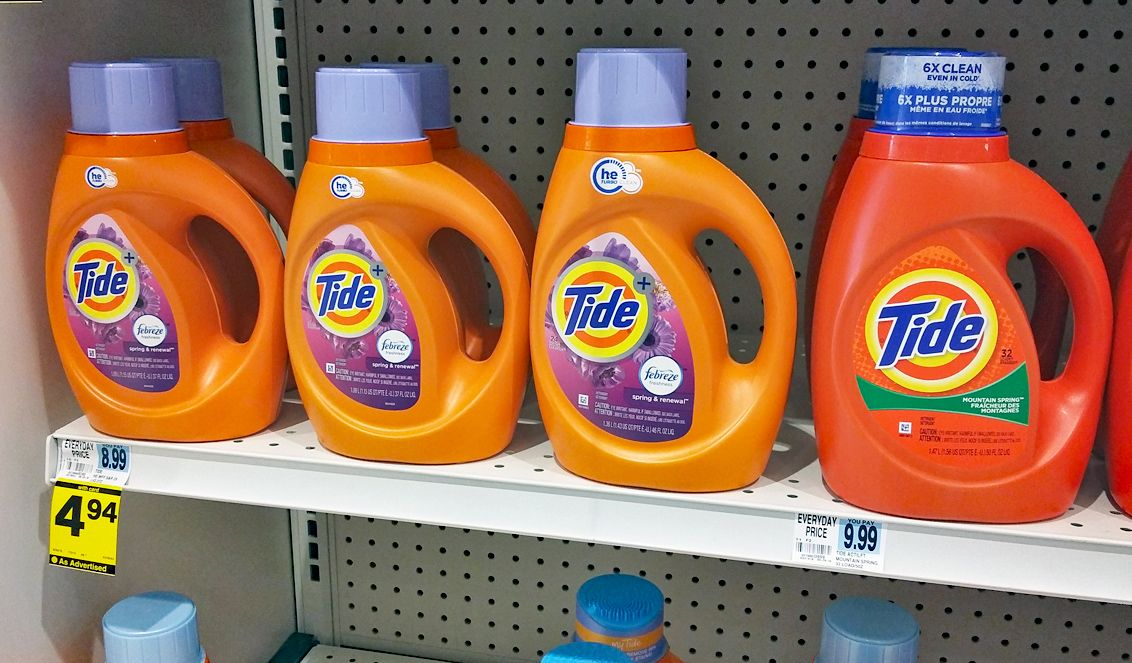 Tide Laundry Detergent Only 2 94 At Rite Aid Tide Laundry