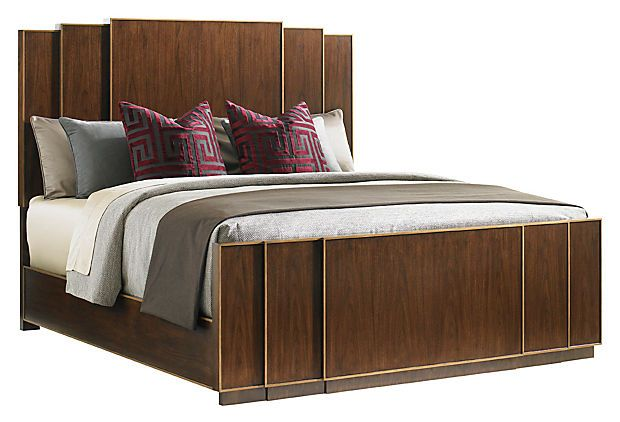 Fairmont Panel Bed Like The Cathedral Back Panels