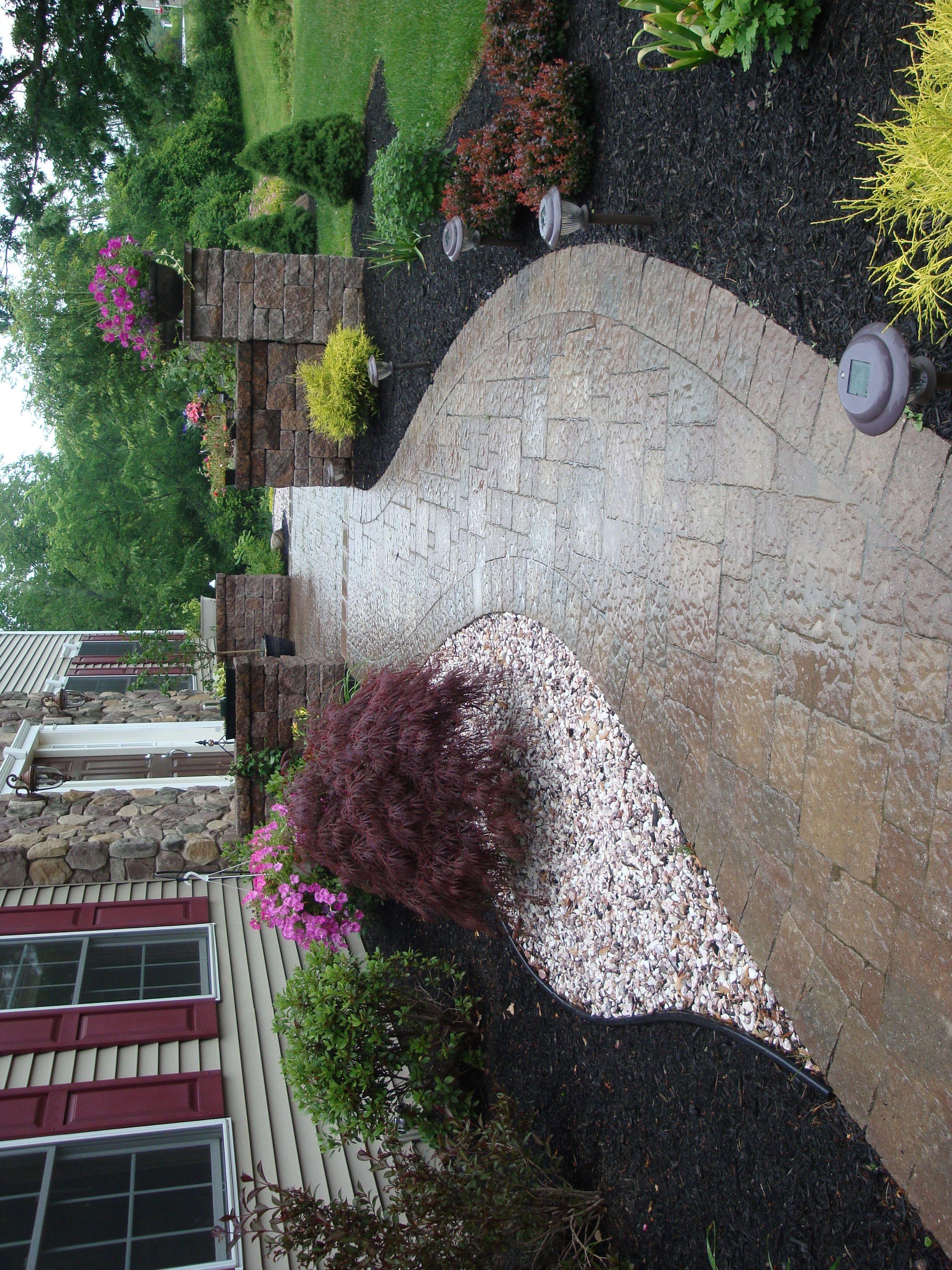 Dream Walkway With Creative Design For Alternative Design To Create Interesting Home Walkway Inspiring Ideas Stone Design Landscape Design Square Design