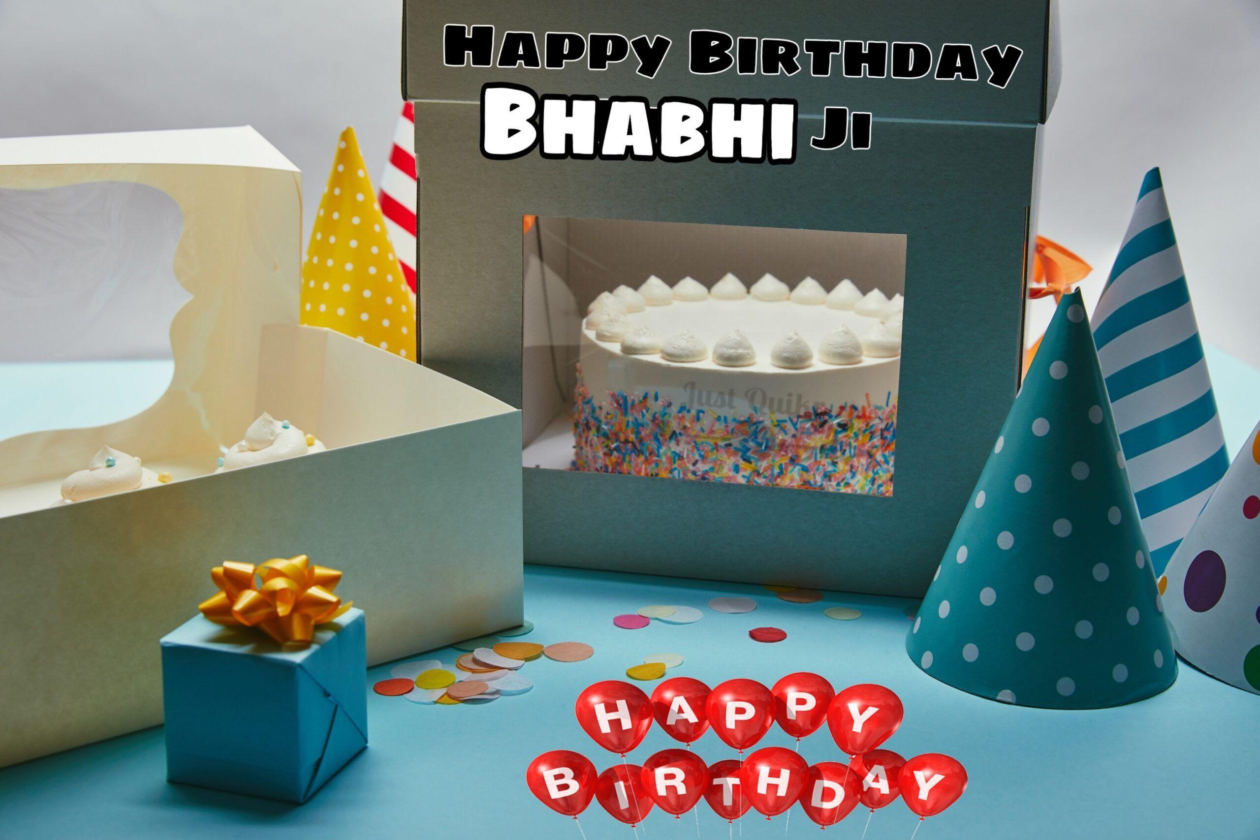 Top 10 Special Unique Happy Birthday Cake Hd Pics Images For Bhabhi Ji J U S T Q U Happy Birthday Cake Hd Happy Birthday Cakes Happy Birthday Cake Pictures