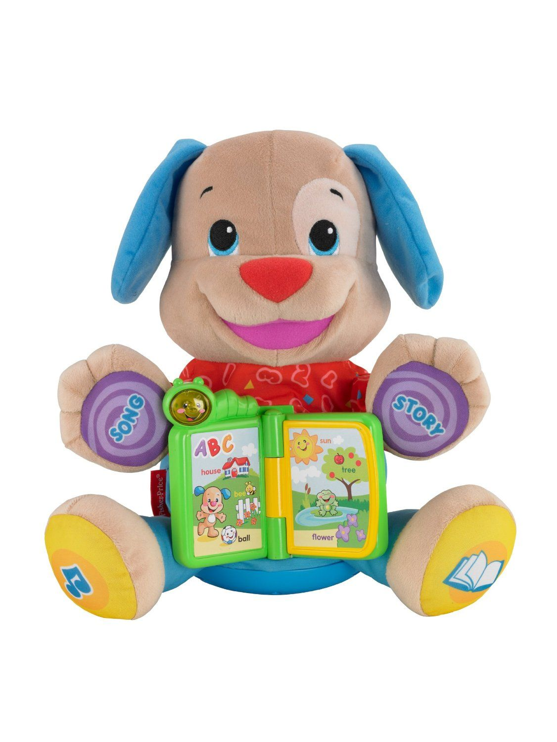 fisher price laugh and learn singin storytime puppy 15 for the rh pinterest ca Fish Singing Toy Singing Plush Toys