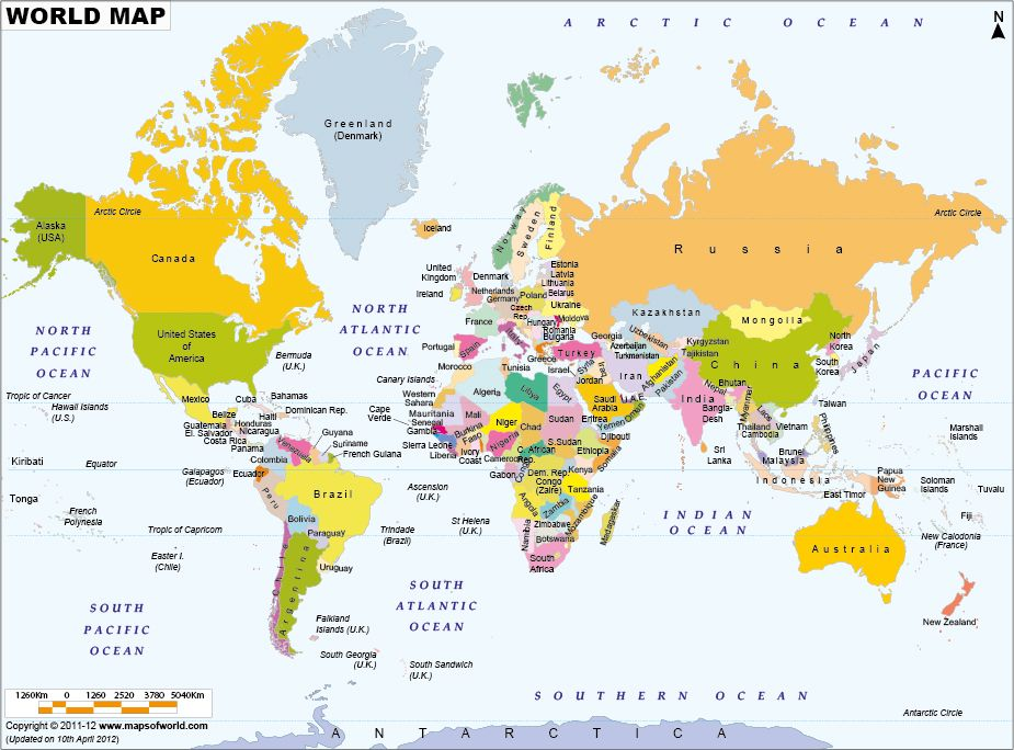 World political map now this is called integration pin it button world map showing country names in their native language gumiabroncs Image collections