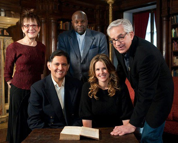 The five History Detectives (from L-R) Gwen Wright, Eduardo Pagan ...