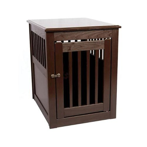 "End Table Dog Crate Size: Large (27"" H x 24"" W x 36"" D), Finish: Mahogany, Wood Type: Poplar Dynamic Accents http://www.amazon.com/dp/B001B185B8/ref=cm_sw_r_pi_dp_J54Ktb1XJZYE09FX"