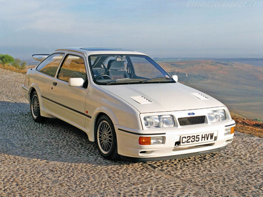 Ford Sierra Rs Cosworth Called A Mercur Xr4ti In The States Ford Sierra