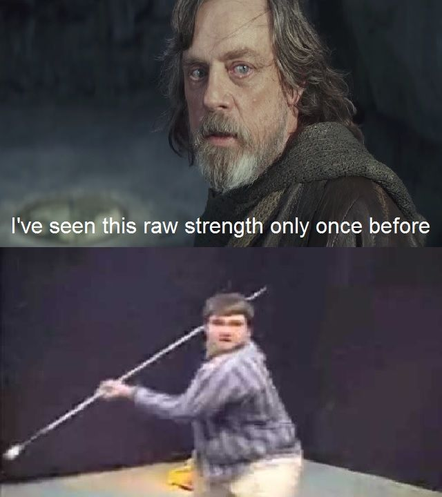 He Didn T Scare Us Enough Then Star Wars Humor Star Wars Kids Star Wars Memes