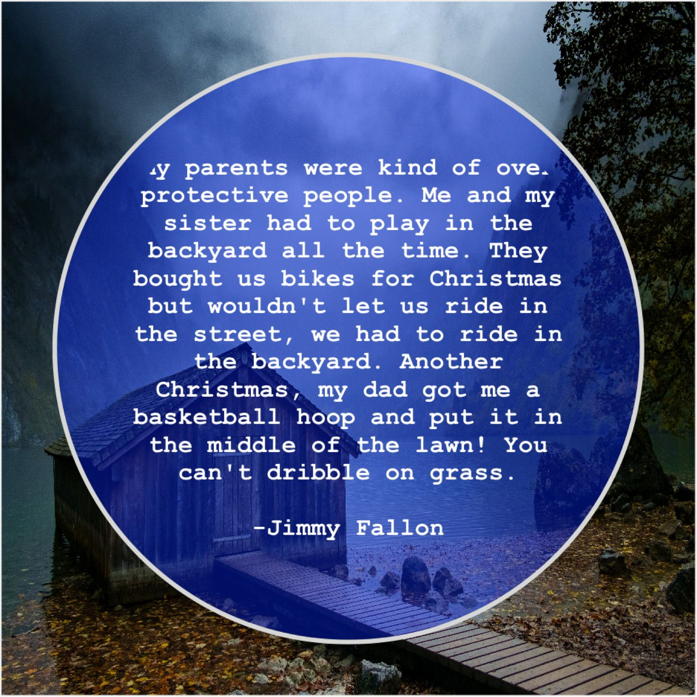 Jimmy Fallon My Parents Were Kind Of My Parents Were Kind Of Over