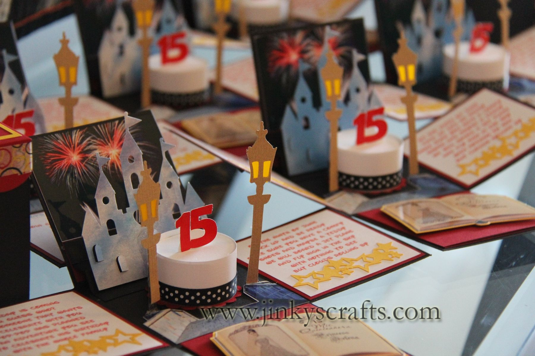 Ooh La La Paris Themed Sweet Sixteen Invitations Box - Creative diy birthday invitations in a box