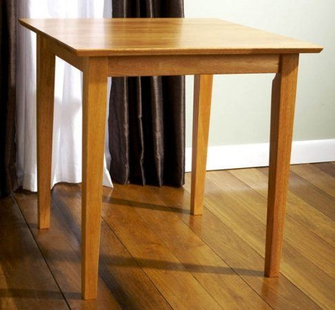 Carey Square Dining Table 30x30 Inches Maple No Chairs By Dinette Direct 199 99 Maple Square Dining Tables Cheap Dining Room Sets Dinette Kitchen Table