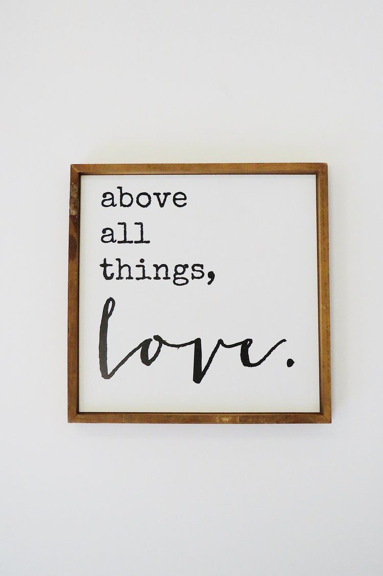 Küche design zitate above all things love  roolee  zitate  pinterest  liebe