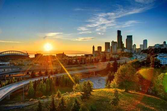 Seattle, Washington... The Emerald City.  If you go, go in August or September