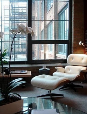 Forever A Classic, The Eames in white is reborn ➤ http://CARLAASTON.com/designed/classic-eames-chair-black-white-color