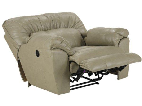 Admirable Catnapper Nolan Power Extra Wide Cuddler Recliner In Putty Inzonedesignstudio Interior Chair Design Inzonedesignstudiocom